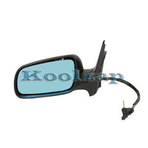 Vw Jetta Golf Manual Remote Non heated Folding Rear View Mirror Left Driver Side