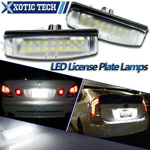 For Toyota Camry 2006 2013 2009 2010 2011 2012 18 Smd Led License Plate Light