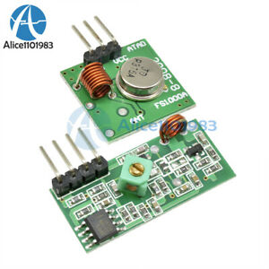 315mhz Rf Transmitter And Receiver Link Kit For Arduino arm mcu Remote Control
