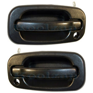 Silverado Sierra Truck Front Outside Exterior Door Handle Set Pair Left Right