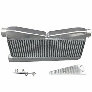 Twin Turbo 27 X12 5 X3 5 Intercooler Brackets For 79 93 Ford Mustang Camaro