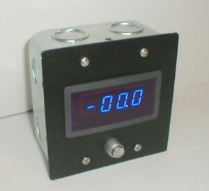100a Amp D c Digital Panel Meter 2 Gang Box Self Powered