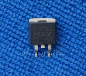 25pcs Irf3710s F3710s Smd Power Mosfet 57a 100v To 263