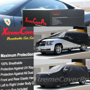 2000 2001 2002 Chevy Suburban Breathable Car Cover W Mirrorpocket