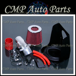 2010 2012 Ford Fusion 2 5 2 5l Air Intake Kit Induction Systems Heatshield Red