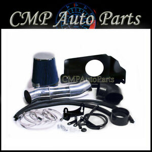 2005 2009 Mustang Gt 4 6 4 6l V8 Cold Air Intake Kit Induction Systems Blue