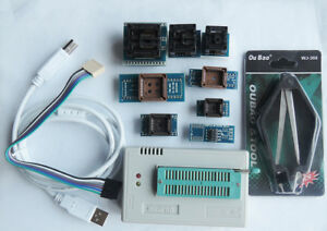 Tl866ii Plus Usb High Performance Programmer 9 Adapters Upgraded From Tl866a
