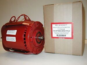 Bell Gossett 1 12 Hp Circulator Motor Series 100 111034 And 106189
