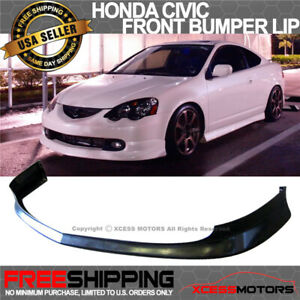 Fits 02 04 Acura Rsx Jdm T R Style Front Lip Polyurethane
