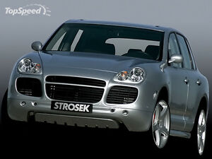 Porsche Cayenne Turbo Strosek Style Front Bumper Spoiler Tail Lights