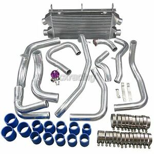 Twin Turbo Intercooler Kit Bov For 3000gt Stealth Td04 Dual Core New Design