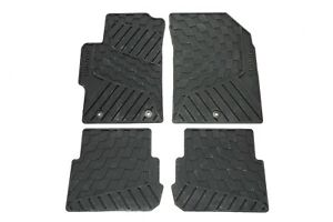 2013 2015 Chevrolet Spark Gm Black Premium All Weather Front Rear Floor Mats