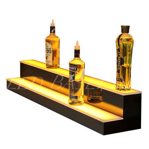 52 Lighted Bar Shelving For Glass Liquor Bottles Bar Or Home