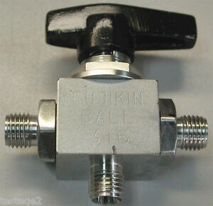 Fujikin 3 way Ball Valve 0026246 100415