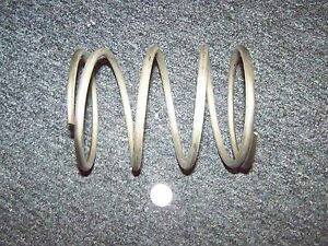 Stainless Helical Compression Spring Military 4 7 8 X 6 Long 9 Coils New Large