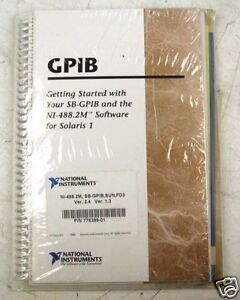 National Instruments Gpib P n 776399 01 Manual software