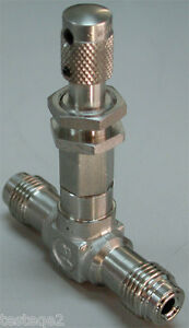 Nupro Micro Metering Valve Inch Male Vcr Fittings Ss 4mg vcr M Series