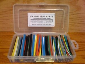 Assortment Heat Shrink Tubing 6 Sizes 4 7 Colors 1 16
