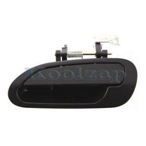 For 98 02 Accord Sedan Rear Outside Outer Exterior Door Handle Left Driver Side