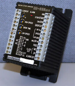 Rorze Rd 323m10 2 ph Microstepping Motor Drive