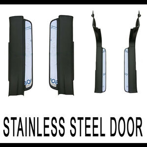Front Rear Side Door Scuff Stainless Garnish 4p For 11 12 Chevy Captiva