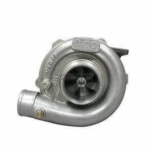 Cxracing Ceramic Ball Bearing T3 T04e Turbo Charger Stage Iii 50 63 A R 5 Bolt