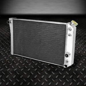3 Row Core Full Aluminum Racing Radiator 82 02 Chevy S10 Blazer 90 Corvette V8