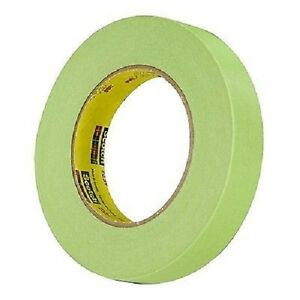3 4 1 Roll 3m 26334 Green Masking Tape 1 Roll