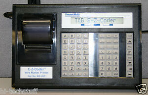 Thomas Betts Wd 25p E z coder Wire Marker Printer