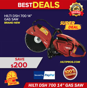 Hilti Gas Saw Dsh 700 14 Hand Held Brand New Original Box With One Blade
