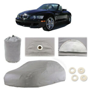 1996 2002 Bmw Z3 6 Layer Car Cover Fitted Water Proof Snow Rain Uv Sun Du