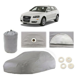 Audi A3 4 Layer Car Cover Fitted In Out Door Water Proof Rain Snow Sun Dust