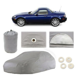 Mazda Mx 5 Miata 4 Layer Car Cover Fitted Outdoor Water Proof Rain Snow Sun Dust