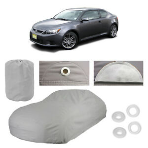 Scion Tc 4 Layer Car Cover Fitted In Out Door Water Proof Rain Snow Uv Sun Dust