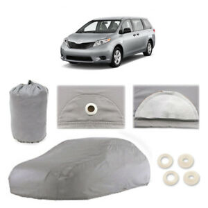 Fits Toyota Sienna 5 Layer Car Cover Fitted Outdoor Water Proof Rain Snow Sun
