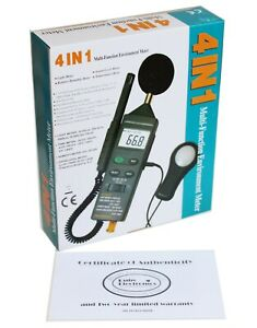 Cem Dt 8820 4 in 1 Thermometer Light Lux Humidity Sound Meter Temperature Tester