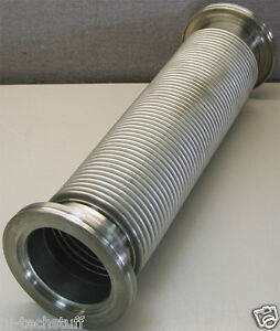 Bellows Stainless Metal Hose 14 5 Inch 14 1 2 Iso mf Nw 80 Flange