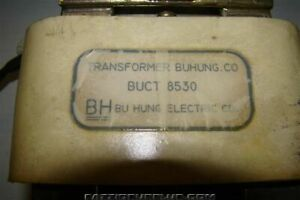 Bu Hung Electric Co Transformer Buct 8530