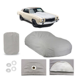 Chevy Monte Carlo 4 Layer Car Cover Outdoor Water Proof Rain Snow Sun 1st Gen