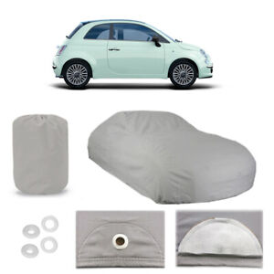 Fiat 500 4 Layer Car Cover Fitted In Out Door Water Proof Rain Snow Uv Sun Dust