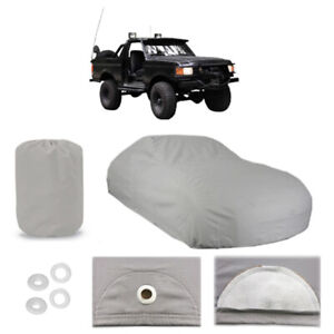 Ford Bronco 4 Layer Car Cover Fitted In Out Door Water Proof Rain Snow Sun Dust
