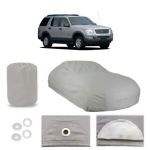 Ford Explorer 4 Layer Car Cover Fitted Outdoor Water Proof Rain Snow Sun Dust