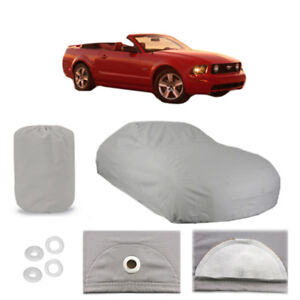 Ford Mustang 5 Layer Car Cover Fitted Outdoor Water Proof Rain Sun Dust 4th Gen