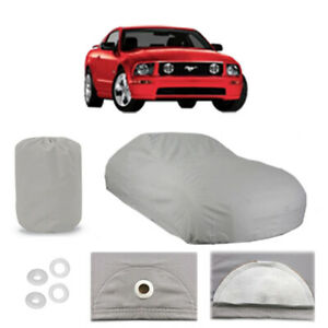 Ford Mustang 5 Layer Car Cover Fitted Outdoor Water Proof Rain Sun Dust 5th Gen