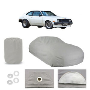 Ford Pinto 5 Layer Car Cover Fitted In Out Door Water Proof Rain Snow Sun Dust