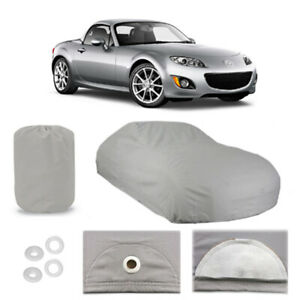 Mazda Mx 5 Miata 6 Layer Car Cover Fitted Outdoor Water Proof Rain Snow Sun Dust