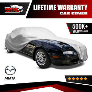 Mazda Mx 5 Miata Car Cover 1989 1990 1991 1992 1993 New Best 4 Layer Waterproof