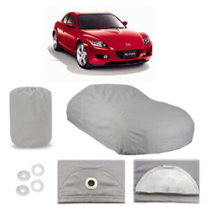 Mazda Rx 8 4 Layer Car Cover Fitted In Out Door Water Proof Rain Snow Sun Dust