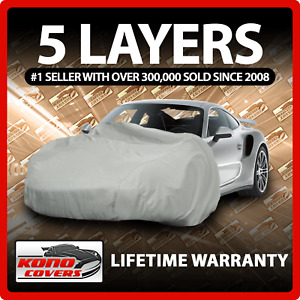 Fits Toyota Solara 5 Layer Car Cover Fitted Outdoor Water Proof Rain Snow Sun