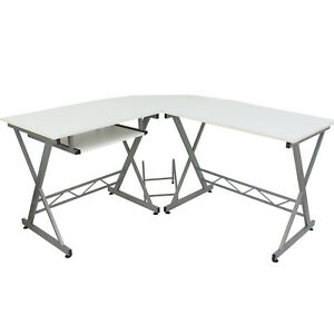 Office Computer Desk Executive Home Furniture Table Laptop Workstation L shape
